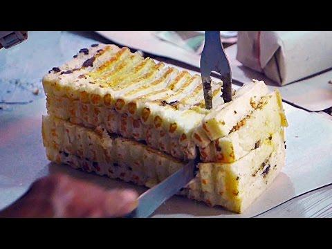Video Indonesian Street Food - GRILLED BREAD | Roti Bakar Bandung
