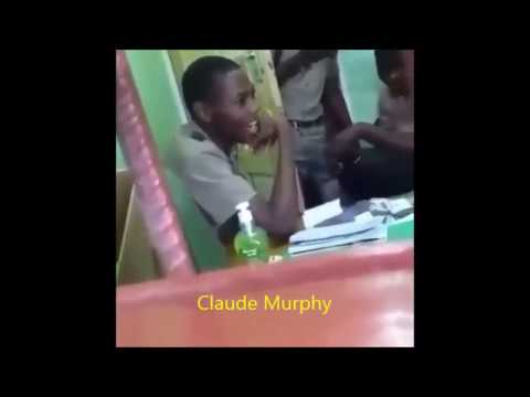 Jamaican School Boy Threatening Teacher To