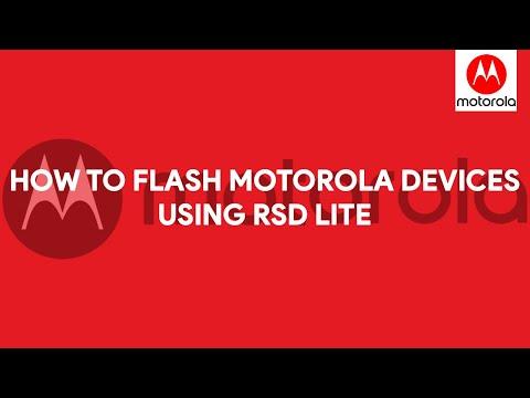 How To Flash Motorola Devices Using RSD Lite - [romshillzz]