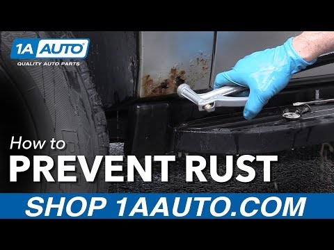Cleaning Your Car to Prevent Rust
