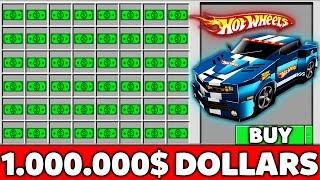 Minecraft Battle: NOOB BUY SUPER HOT WHEELS CAR FOR 1.000.000$ Challenge in Minecraft Animation