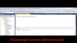 MSSQL -  how to return only date from sql server DateTime datatype