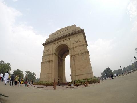 Прогулка по Нью-Дели.