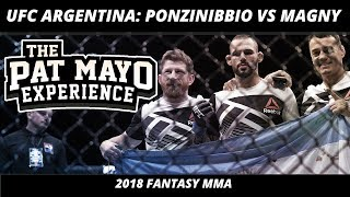 2018 Fantasy MMA: UFC Argentina DraftKings Picks & UFC Fight Night 140 Fight Previews