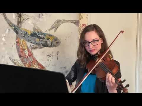 Concerto in A Minor, 1st Movement by Vivaldi. Excerpt. Suzuki Violin School Book 4