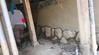 泥だし作業広島県三原市本郷町北方西日本豪雨災害復旧作業