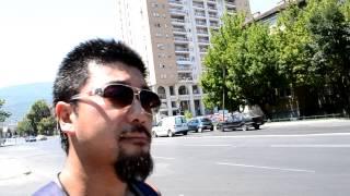 アキーラさん散策①マケドニア・スコピエ市内,Skopje,Macedonia