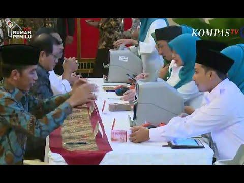 Jokowi Bayar Zakat Mal di Istana Negara