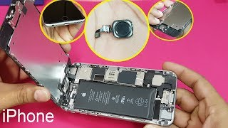 iPhone 6 /iPhone 6s- Home Button || Fingerprint Sensor Replacement || How to open Apple iPhone 6/6s