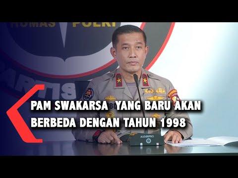 Pam Swakarsa Usulan Komjen Listyo Sigit Berbeda dengan Tahun 1998