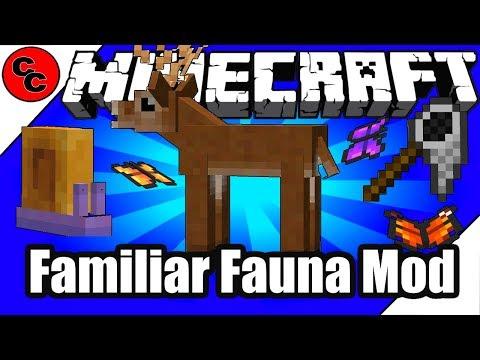 """Minecraft Mods: """" Familiar Fauna Mod 1.12.2 """""""