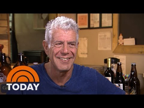 How Anthony Bourdain Went From Dunking French Fries To Becoming A World-Renowned Chef | TODAY
