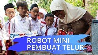 Pemuda asal Purworejo Belajar Ciptakan Robot untuk Bantu Ibunya Berjualan Telur Dadar