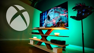 Xbox One S 4K HDR Ultimate Gaming Setup!