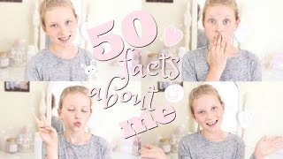 GET TO KNOW ME! 50 FACTS ABOUT ME! | Coco's World