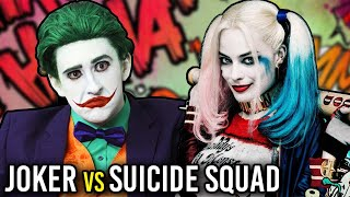 JOKER REACTS TO SUICIDE SQUAD