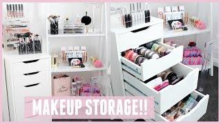 MAKEUP STORAGE & ORGANIZATION For IKEA Alex Drawers Pt 2
