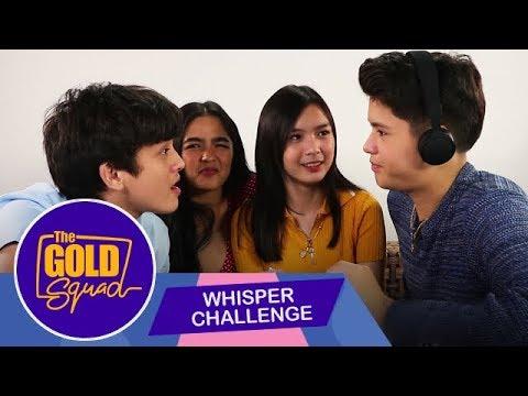 SINO ANG NAG WHISPER KAY FRANCINE NA 'MAG-ON' SILA? | The Gold Squad