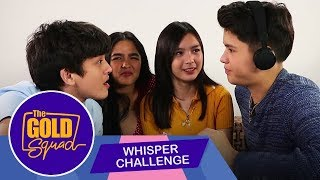 SINO ANG NAG WHISPER KAY FRANCINE NA 'MAG-ON' SILA? | The Gold Squad