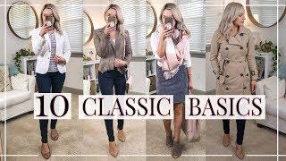 10 CLASSIC BASICS YOU NEED IN YOUR CLOSET | Shannon Sullivan