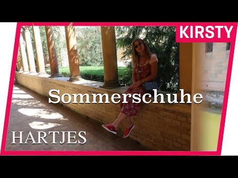 Sommerschuhe 2019⎮HARTJES⎮Super soft & bequem⎮Rote Pantoletten⎮Kirsty Coco