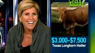 A Texas Long Horn Heifer? Can I Afford It? | Suze Orman
