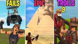 GOLF KART ATK ROADKILL! FAILS vs EPIC vs TROLLS! Fortnite Battle Royale Funny Moments