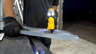 Dewalt 18 Gauge Metal Shear Attachment Install and Review