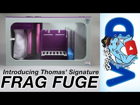 Introducing Thomas' New Signature Sump – the Frag Fuge! (Video)