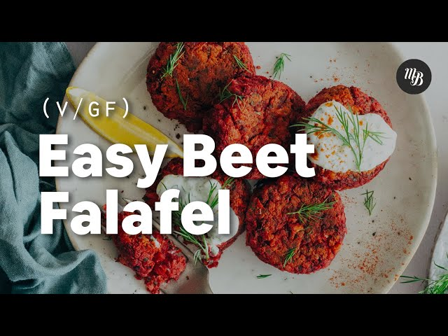 Easy Beet Falafel | Minimalist Baker Recipes