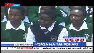 Wanafunzi wa shule ya Kamungei wafundishwa mbinu za zima moto