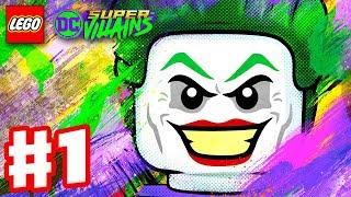 LEGO DC Super Villains - Gameplay Walkthrough Part 1 - New Kid on the Block! Character Creator Intro