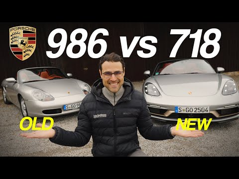 Porsche old vs new! 986 Boxster vs 718 Boxster comparison review!