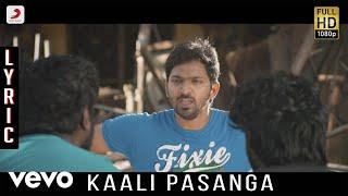 Kappal - Kaali Pasanga Lyric | Vaibhav, Sonam Bajwa