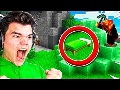 Trolling JELLY in 1v1 Minecraft Bedwars!