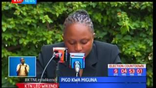 Mgombea mweza wa Miguna Miguna, Karene Wangenye ajiondoa