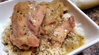 How to cook Southern-Style Stewed Chicken | Ray Mack's Kitchen & Grill