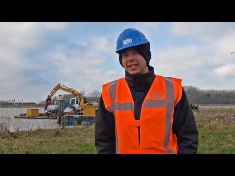 VIDEO   Drie nieuwe rieteilandjes aangelegd in het Drontermeer