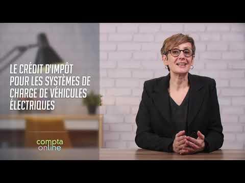 Le crédit d'impôt pour les systèmes de charge de véhicules électriques