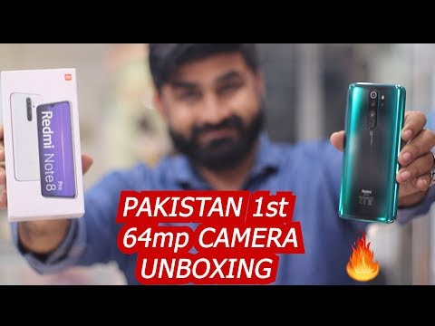 REDMI NOTE 8 PRO IN PAKISTAN | UNBOXING & QUICK REVIEW | 1st 64mp QUAD CAMERA MOBILE  👌👌