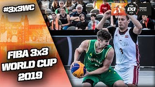 LIVE 🔴 - FIBA 3x3 World Cup 2019 - Pool Phase - Day 3 (2/2) - Amsterdam, Netherlands