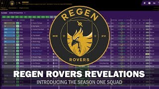 Regen Rovers Revelations #1 - How I Created the Club on the