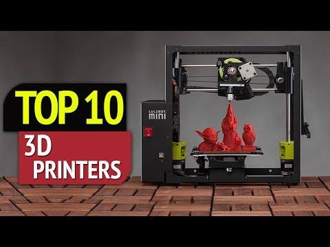 TOP 10: Best 3d Printers 2018