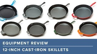 How to Pick the Best Enameled Cast-Iron Skillets