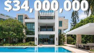 Ultra Luxury In Miami Beach Florida   $34 Million MEGA Mansion