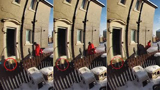 video: Royal Mail apologises after postman left pensioner lying in snow