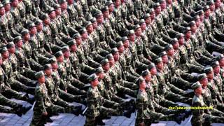 North Korean Song: Sound of Soldiers' Footsteps