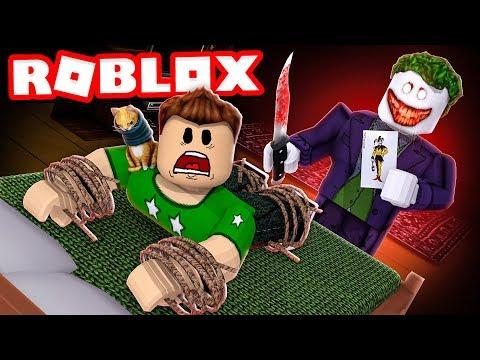 SOBREVIVE al SECUESTRO del JOKER en ROBLOX !!