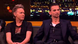 "Depeche Mode - ""Interview + Heaven"" - Live Jonathan Ross Show - ITV1 2013 | dsoaudio"