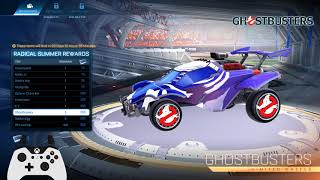 RADICAL SUMMER Event (GHOST HUNT Gamemode, Cassettes, 80s Theme) - Rocket League
